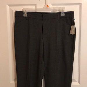 Gap charcoal gray trouser pants